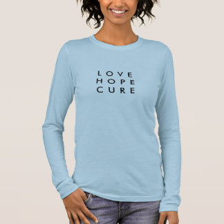 Love Hope Cure Long Sleeve Shirt-Inclusion Project Long Sleeve T-Shirt