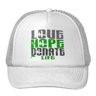 LOVE HOPE DONATE LIFE T-Shirts, Gifts, & Apparel Hats