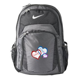 Love, Hope, Dream white Backpack