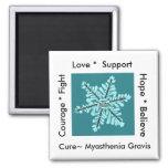 Love/ Hope/ Fight / Cure - Myasthenia Awareness