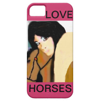 Love Horses I phone case for her