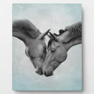 Love Horses Plaque