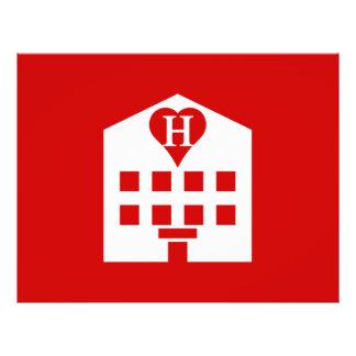 Love Hotel Japanese Emoji Full Color Flyer
