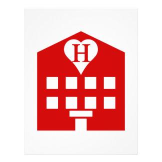 Love Hotel Japanese Emoji Personalized Flyer