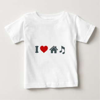 Love House Music Baby T-Shirt