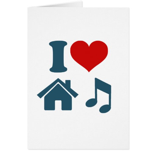 Love House Music Cards