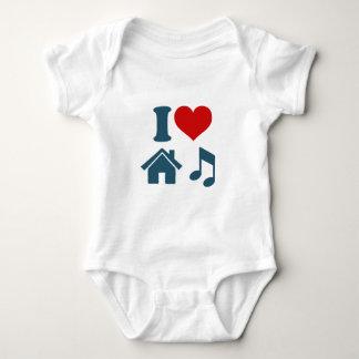 Love House Music Tee Shirts
