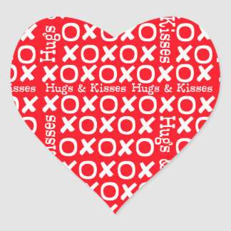 Love Hugs and Kisses Sticker