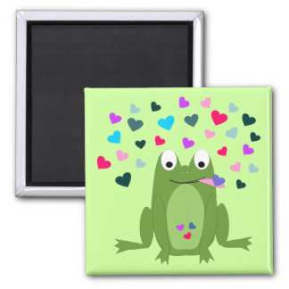 Love Hungry Frog Magnet