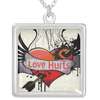 Love Hurts Necklaces Gothic Grunge