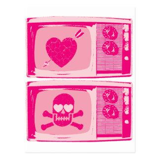 LOVE HURTS ! POSTCARD