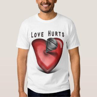 love hurts tshirt