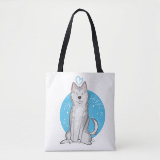 Love Husky - Tote Bag