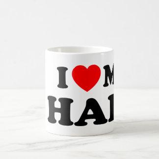 Love I heart My Half Coffee Mug