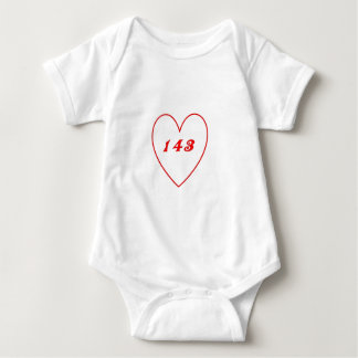 Love, I Love You Baby Bodysuit
