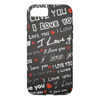 Love I Love You Hearts iPhone 7 Case
