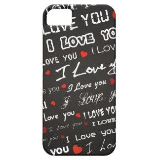Love I Love You iPhone 5 Case
