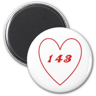 Love, I Love You Magnet