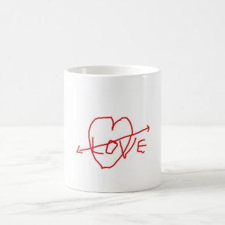 LOVE, I LOVE YOU MOM!!! BASIC WHITE MUG