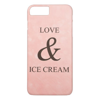 Love & ice cream iPhone 8 plus/7 plus case
