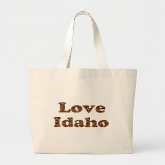 LOVE IDAHO TOTE BAG