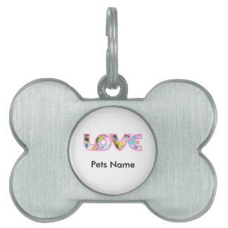 LOVE II PET ID TAG