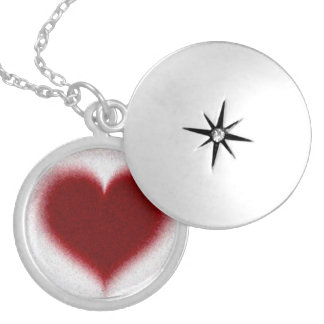 Love in a Locket. Nectace. Round Locket Necklace