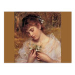 Love in a Mist by Sophie Anderson Postcards