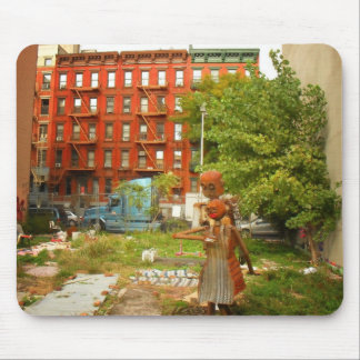 Love in Alphabet City, East Village, NYC Mouse Pad