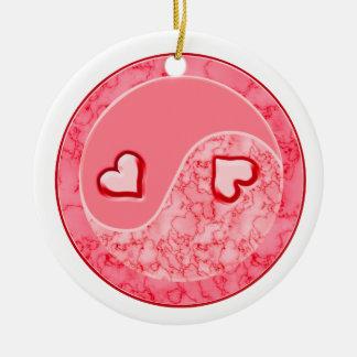 Love in Balance Yin Yang Ornament