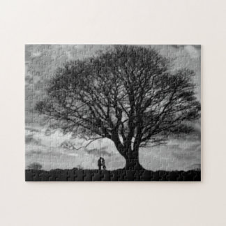 Love in Grey Scale Jigsaw Puzzle