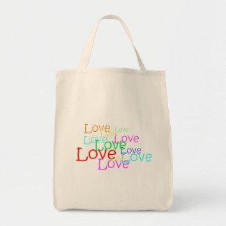 Love in Neon Tote