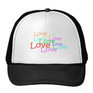 Love in Neon Truckers Cap