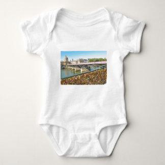 Love in Paris Baby Bodysuit