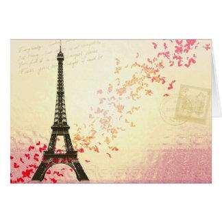 Love in Paris Greeting Cards