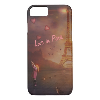 Love in Paris II iPhone 8/7 Case