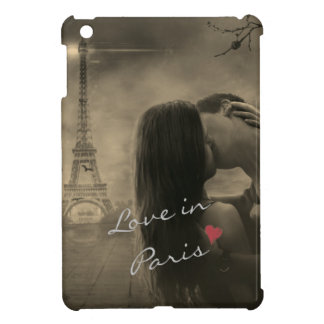 Love in Paris III iPad Mini Covers