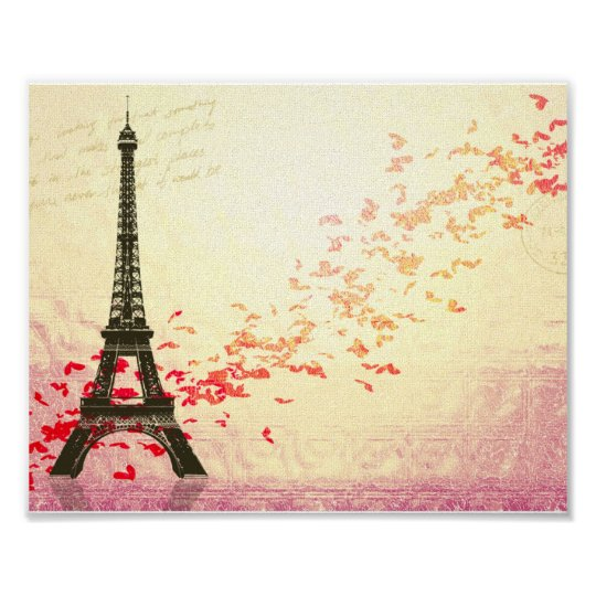 Love in Paris in the springtime Poster