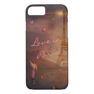 Love in Paris iPhone 8/7 Case