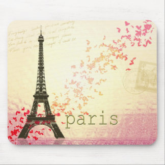 Love in Paris Mouse Mat