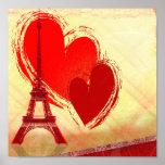 Love in Paris Print