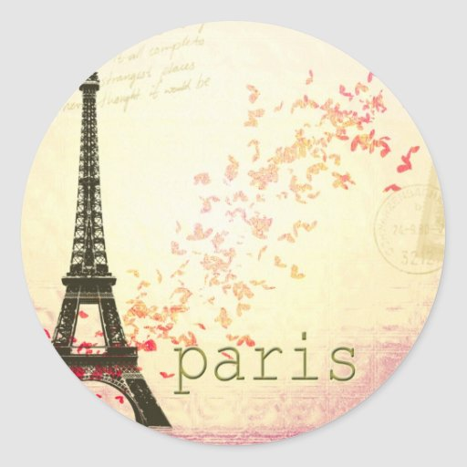 Love in Paris Stickers