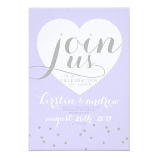Love in shades of periwinkle! card