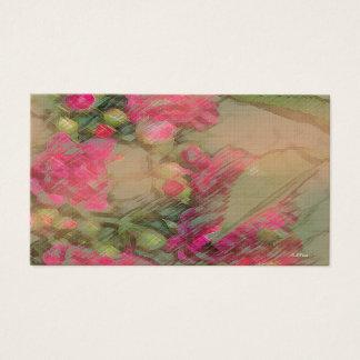 """Love in Summer"" Design ©2016CaroleTomlinson Business Card"