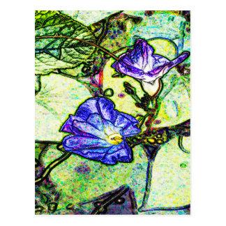 """Love in Summer"" Design by Carole Tomlinson©2016 Postcard"