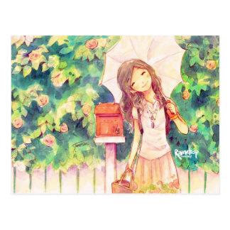 Love in Summer Postcard