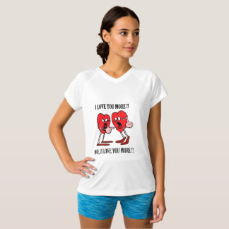 Love in the air Champion Double-Dry V-Neck TShirt