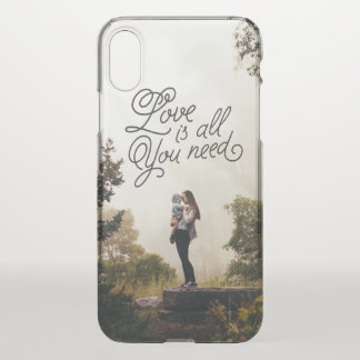 Love in the Air iPhone X Case
