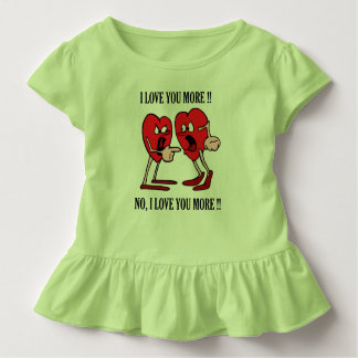 'Love in the air' Toddler Ruffle Tee