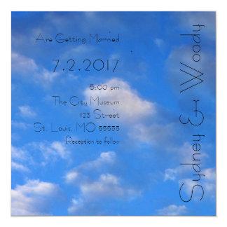 Love in the Air Wedding 13 Cm X 13 Cm Square Invitation Card
